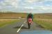 Efficacité du gilet airbag - Suite à un choc frontal à plus de 100km/h, ce motard survit