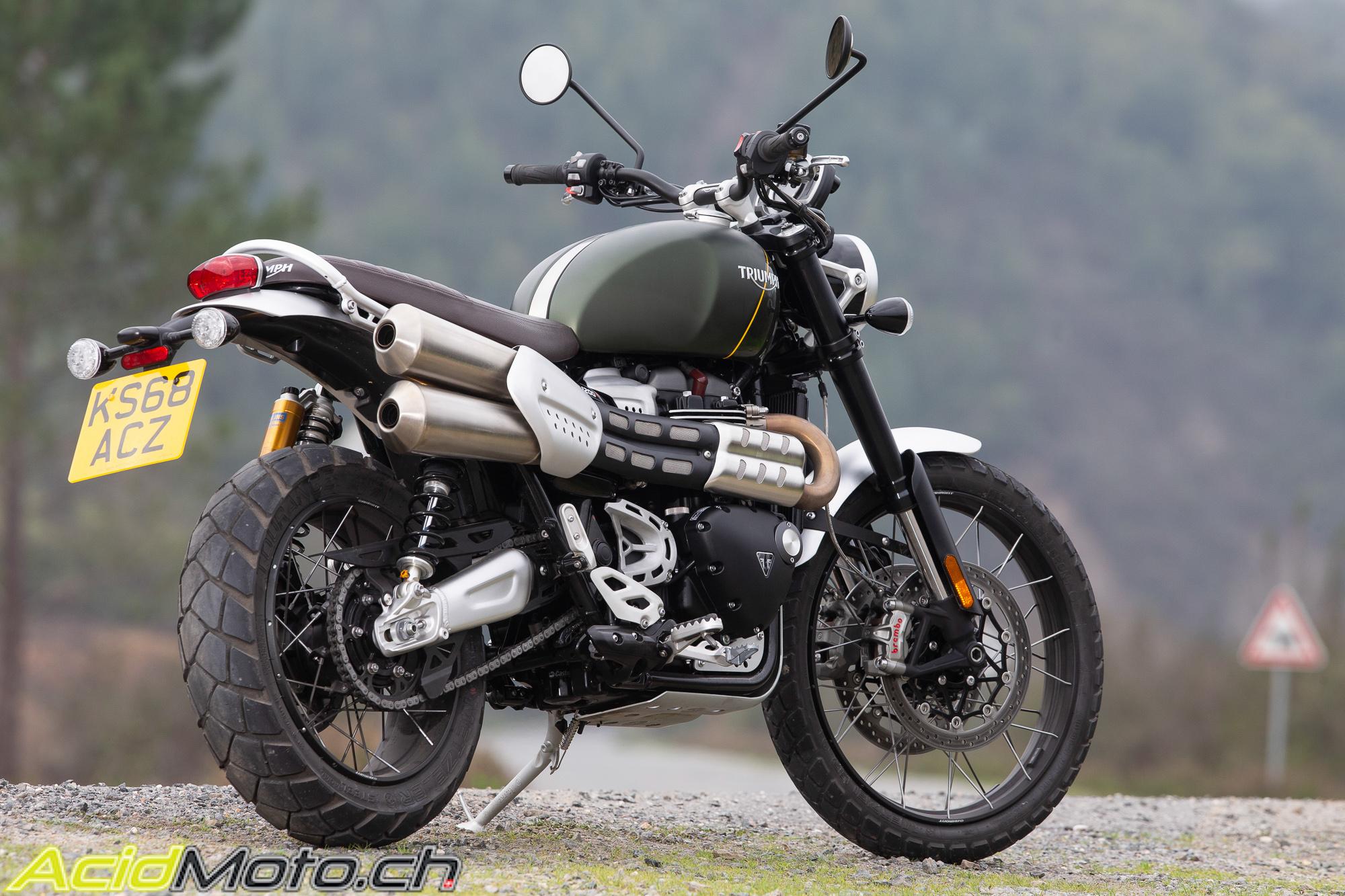 Neumotorrad: Triumph Scrambler 1200 XC, Baujahr: 2020, 14