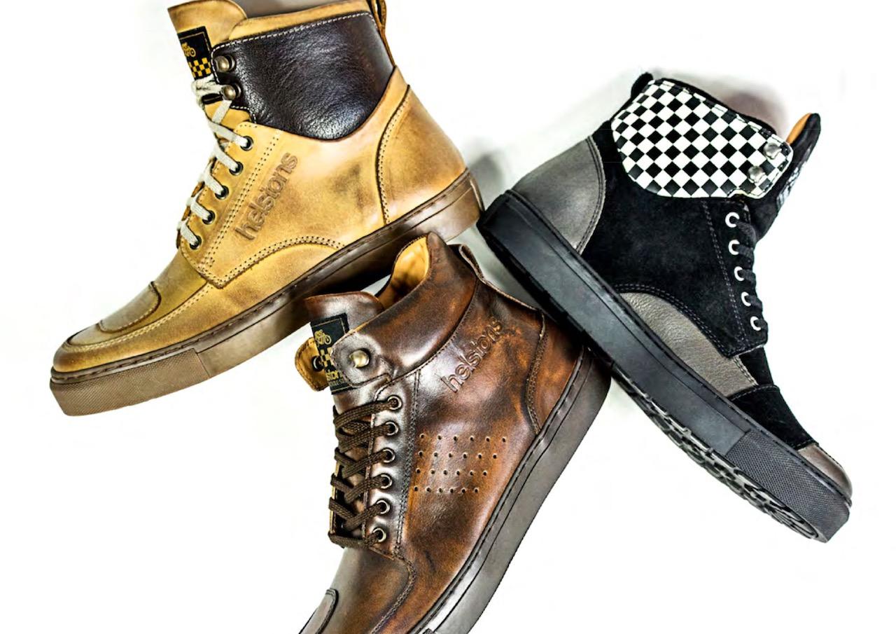 ffe0e451dcb6ac Nouvelles chaussures Helstons Utah et Glenn » AcidMoto.ch, le site ...