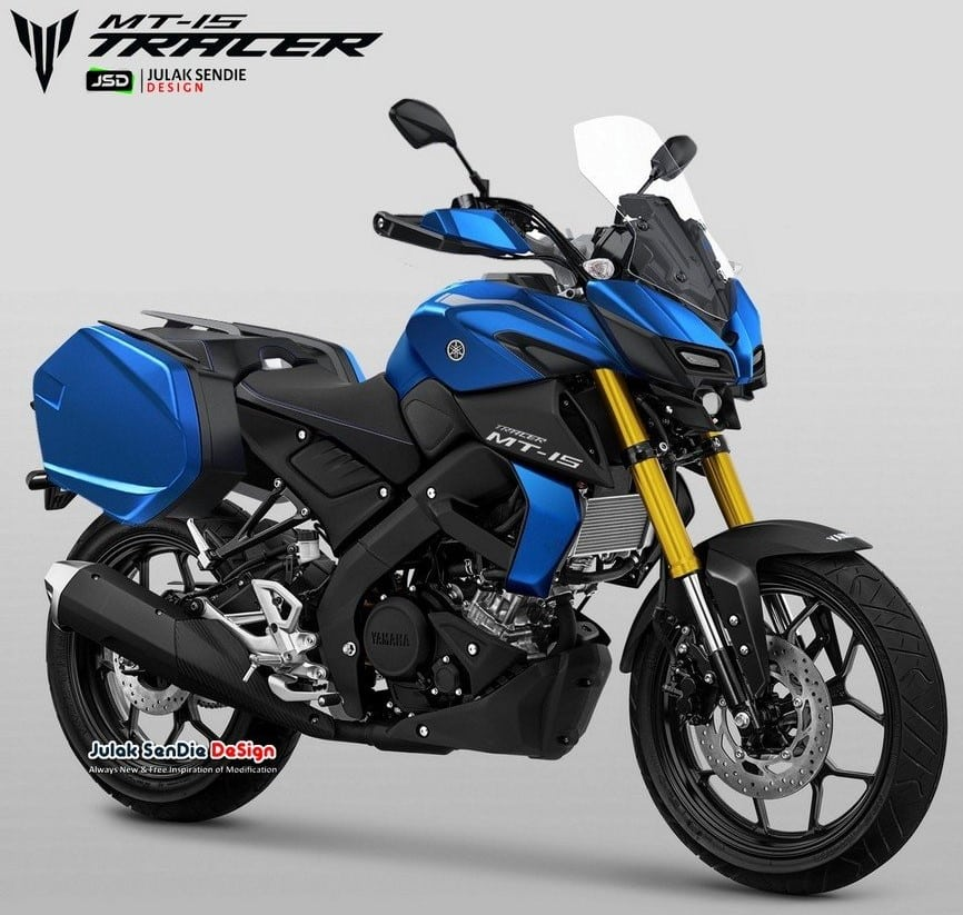 for whole family lace up in official supplier Un designer indien nous propose une Yamaha MT-125 Tracer ...